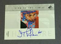 Jose Theodore Auto Montreal Canadiens 2003-04 SP Authentic Sign of the Times