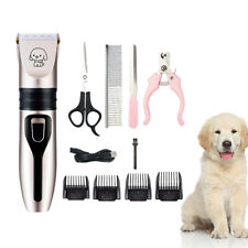 Pet Dog Cat Hair Clippers Grooming Trimmer Kit Electrical Trimmer Hair Cutter