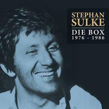Stephan SULKE-La Box 1976-1986 5 CD NEUF