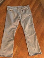 """Men's Buffalo David Bitton 40 (Actual) Lt Gray Sam-X Jeans. Inseam 33"""". EUC! M8"""
