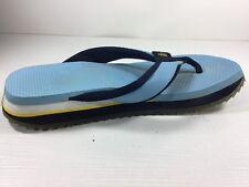 Mens Mossimo Light Powder Blue Flip Flop Sandals Shoes Size 10