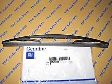 Chevy GMC Cadillac SUV Rear Wiper Blade and Rubber Insert OEM Genuine GM New