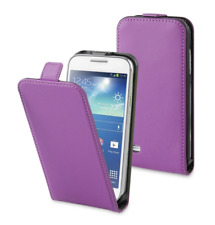 Funda Carcasa Lujo (CUERO DELGADO PÚRPURA) ~ Samsung GT i8190 Galaxy S3 Mini