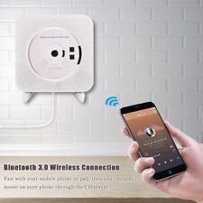 Bluetooth Wall Mounted Music Player HiFi Stereo Audio MP3 CD AUX USB FM Radio UK