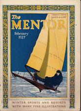 The Mentor Feb 1927 Winter Sports and Resorts With Many Fine Illustrations