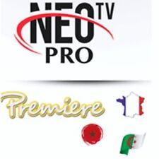 """Abonnement de 12 mois NEO TV  """"IPTV"""""""