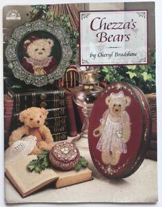 Painting Instruction/Pattern Book, Chezza's Bears by Cheryl Bradshaw