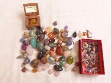 Mineralien Trommelsteine