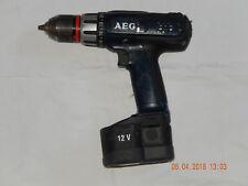 AEG BS 12 X  Profi-Akkuschrauber,geprüft-FUNKTIONSFÄHIG+AKKU
