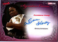 TNA Awesome Kong 2009 Knockouts Signature Curves SILVER Autograph Card DWC