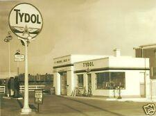 """5""""x7"""" TYDOL VEEDOL OILS GAS STATION PUMPS FLYING A TIDEWATER CR CARDS  1/12/1942"""