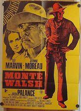 MONTE WALSCH (Pl. '70) - LEE MARVIN / JEANNE MOREAU / JACK PALANCE