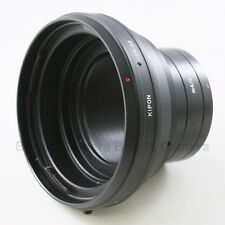 Kipon Hasselblad V mount CF lens to Micro 4/3 M43 Adapter GH4 G6 OM-D E-P5 PL6