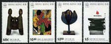 Hong Kong 542-545, MNH. Modern Art. Sculptures, Paintings, 1989