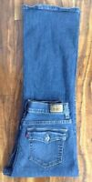 SUPER SEXY! LEVIS 512 PERFECTLY SLIMMING BOOT CUT JEANS 10P MEDIUM W29 L28