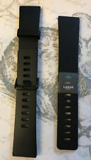 Genuine Fitbit Ionic Sport Accessory Black Bands Small And Large