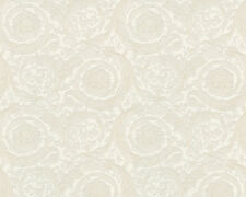 Versace Home Wallpaper 935832 Tapete creme beige Metallic Satin Barock Vlies