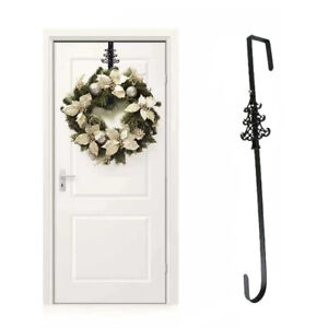 Christmas Wreath Door Hanger Strong Metal Garland Door Hook Decoration 38cm 15""