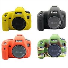 Soft Silicone Rubber Camera Protective Body Cover Case Skin For Canon EOS 6D2 6D