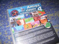 Amiga Classix 4 PC oltre 200 giochi per il PC Tedesco Nuovo E Sigillato WIN 7