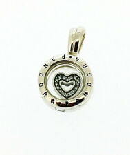 GENUINE PANDORA Floating Heart Locket Charm 792144CZ FREE DELIVERY