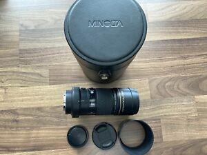 Minolta AF APO MACRO Objektiv 4,0/200 mm G auch für Sony Alpha