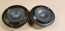 """*Matched Pair* Novik S.A. 3 3/8"""" 6 Ohm Tweeters *New in Package*"""