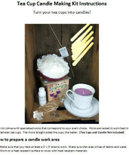 Soy Wax Candle Making Kit - Tea Cup Candles (CUPS NOT INCLUDED)