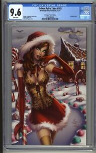 Grimm Fairy Tales #105 CGC 9.6 Dawn McTeigue Nice Christmas Edition (2014)