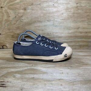 Keen Vulcanized Low Top Sneakers, Men's Size 7.5, Blue