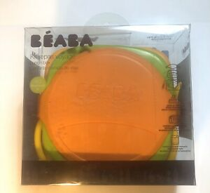 Kids Beaba Soft Lunch Box Kit Sorbet Bento Baby Food Storage New