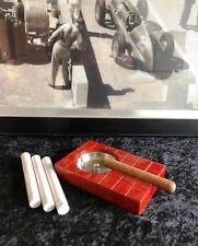 Zigarren Aschenbecher,Holz,Edelstahl,stilvolles Accessoire für den Aficionado,a7