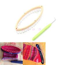 Peg Knitting Loom Steel Extenders Hook Kit For Socks Leg/Arm Warmer DIY
