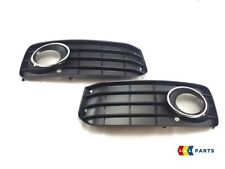 AUDI A5 2008-2012 NEW GENUINE S LINE BUMPER FOG LIGHT GRILL PAIR LEFT RIGHT