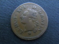ROYALE/ LOUIS XVI 1774-1793. LIARD A L'ECU. 1782 AIX-en-PROVENCE.