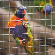 Galvanised Welded Wire Mesh Panels Chicken Run Rabbit Hutch Pet Coop Fence