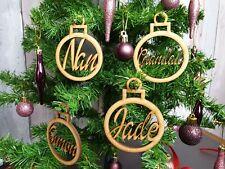 Listo Para Decorar Personalizado De Navidad bolas para árbol de Navidad