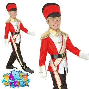 Child Toy Soldier Costume Royal Busby Guard Boys Girls Book Week Day Fancy Dress