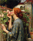 John William Waterhouse The Soul of the Rose Giclee Print on Canvas Small 8x10