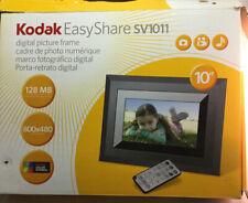 "Kodak EasyShare SV1011 128MB 10"" Digital Picture Frame Built In Speakers"