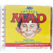 New Totally Mad 1969-1974 Windows PC 65 Interactive Issues CD ROM Smart Saver