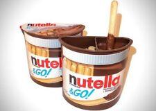 Nutella & GO Hazelnut Spread & Malted Bread sticks Made by Ferrero! (Twin pack)