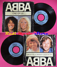LP 45 7'' ABBA One of us Should i laugh or cry 1981 england EPIC 1740 cd mc dvd