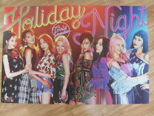 SNSD GIRLS' GENERATION - HOLIDAY NIGHT (TYPE B) [ORIGINAL POSTER] K-POP *NEW*