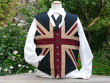 Union Jack Waistcoat for all occasions: new larger sizes now available