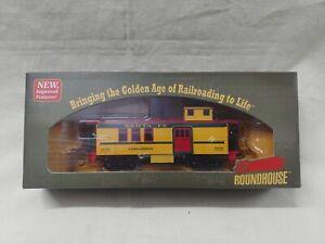 Roundhouse Santa Fe Drover's Caboose 905 Cimarron Item # 84321 Vintage!