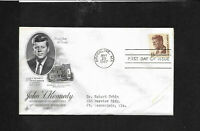 13c John F Kennedy 1967 Envelope   First Day Cover