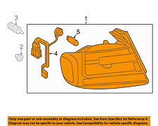 AUDI OEM 13-16 A4 Quattro-Taillight Tail Light Lamp Assy Left 8K5945095AD