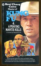 Kung Fu #4: A Praying Mantis Kills by Howard Lee-First Printing-David Carradine
