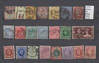 STAMPS LOT  GREAT BRITAIN   USED  (L35100)